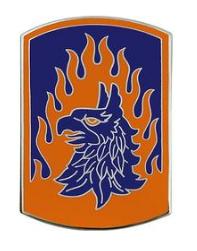 12th Aviation Brigade Combat Service Identification Badge (CSIB)