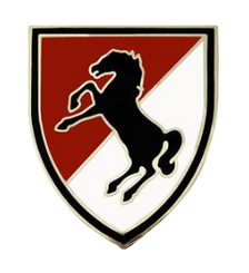 11th Armored Cavalry Regiment Combat Service Identification Badge (CSIB)