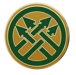 220th Military Police Brigade Combat Service Identification Badge (CSIB)