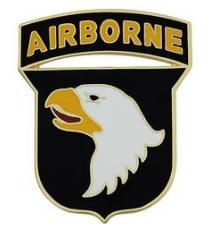 101st Airborne Division Combat Service Identification Badge (CSIB)