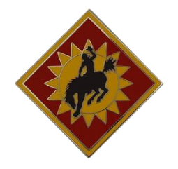 115th Field Artillery Brigade Combat Service Identification Badge (CSIB)