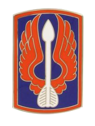 18th Aviation Brigade Combat Service Identification Badge (CSIB)
