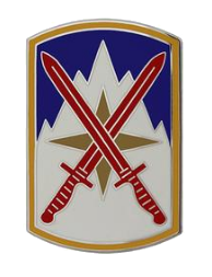 10th Sustainment Brigade Combat Service Identification Badge (CSIB)