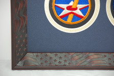 Red Stars & Stripes Frame Moulding