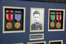 "Full Size Medals & 4"" x 6"" Photo"
