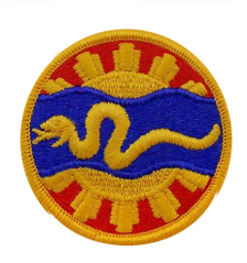 116th Cavalry- color