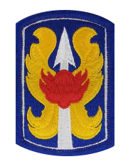 199th Infantry Brigade- color