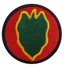 24th Infantry Division- color