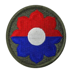9th Infantry Division- color