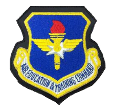 Air Education and Training Command- leather - color
