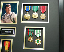 Air Medal, Army Commendation, Good Conduct, Vietnam Civil Action, & Republic of Vietnam Campaign Medal