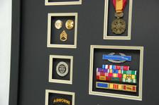 Brass, SF Coin, CIB, Ribbon Rack, Vietnam Gallantry Medal