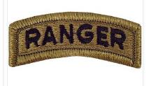 Ranger Tab Patch- OCP