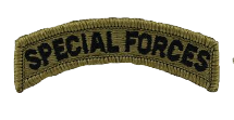 Special Forces Tab Patch- OCP