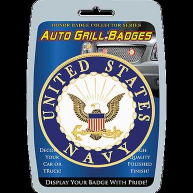"Car/Truck Grill Badges- U.S. Navy Seal 3"""