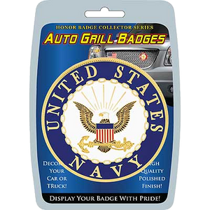 Car/Truck Grill Badges- U.S. Navy Seal 3""