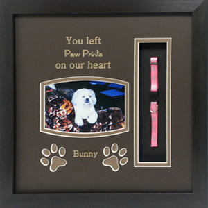 13 x 13 Pet Memorial Shadow Box Frame #2