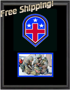 "11"" x 14"" 332nd Medical Unit Frame w/ Photo"