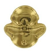 Marine Corps Badge: Combatant Divers - gold, regulation size