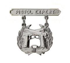 Marine Corps Qualification Badge: Pistol Expert