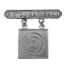 Marine Corps Qualification Badge: Pistol Marksman