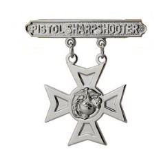 Marine Corps Qualification Badge: Pistol Sharpshooter