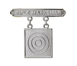Marine Corps Qualification Badge: Rifle Marksman