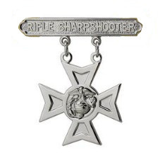 Marine Corps Qualification Badge: Rifle Sharpshooter
