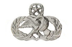 Air Force Badge: Air Maintenance Munition: Master