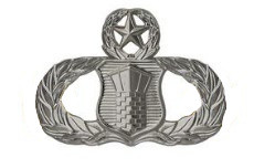 Air Force Badge: Air Traffic Controller: Master