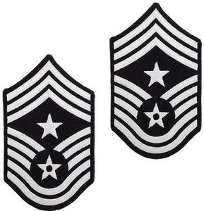 Air Force Chevron: Command Chief Master Sergeant - color
