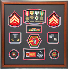 United States Marine CPL Display