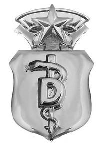 Air Force Badge: Dentist: Chief