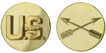 Army Enlisted Branch of Service Collar Device: U.S. and Special Forces