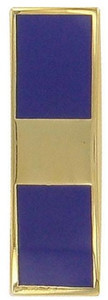 Coast Guard Collar Device: Warrant Officer 1- per pair