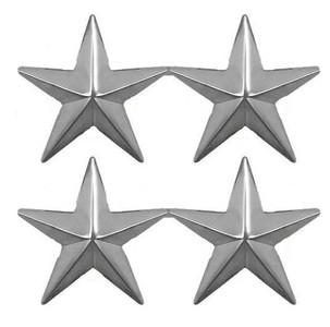 Coast Guard Collar Device: Rear Admiral - two star- per pair