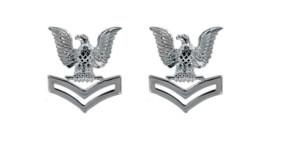 Navy Service Collar Device: E5- pair