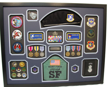 Beret Shadow Box Display Frame