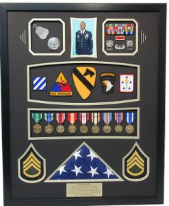 First Cavalry / First Airborne Shadow Box