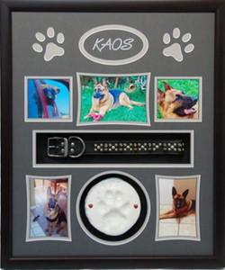 20 x 24 Pet Memorial Shadow Box Frame #1