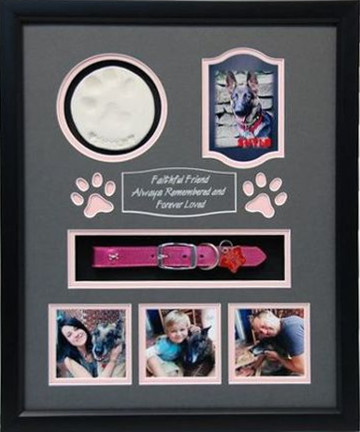 16 x 20 Pet Memorial Shadow Box Frame #13