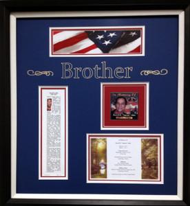 Relative Memorial Frame Display