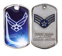 Air Force Coin Senior Airman