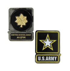 Army Challenge Coin Major