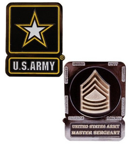 Army Challenge Coin Master Sergeant