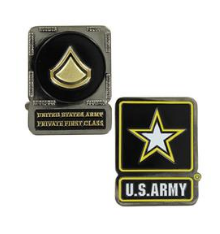 Army Challenge Coin Private First Class