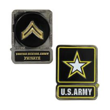 Army Challenge Coin Private