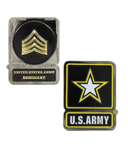 Army Challenge Coin Sergeant