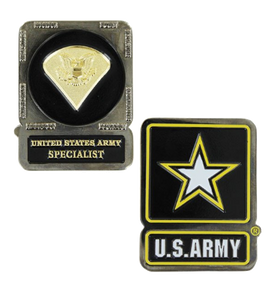 Army Challenge Coin Specialist
