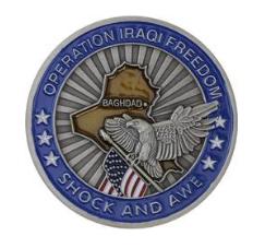 Iraqi Freedom Challenge Coin